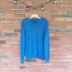 Banana Republic Sweater (Blue): Men's XL